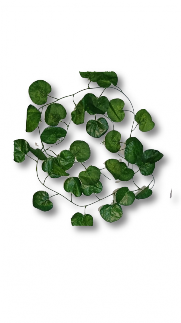 Artificial Leaf Bail Green Color Leafs Hanging Bail Use for Home, Office and Wedding Decoration.